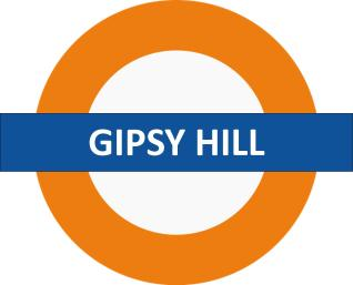 Gipsy Hill Overground Sign