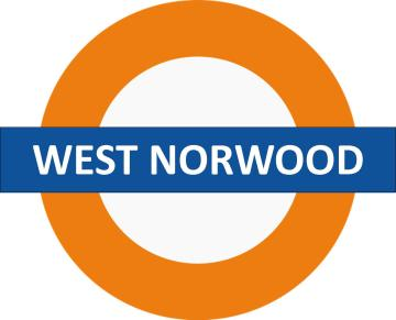 West Norwood Overground Sign