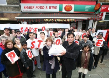 Leading a community campaign to save our local Post Office
